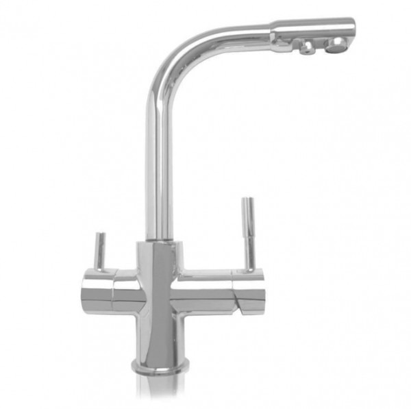 Puricom Forum Chrome 3-Way (Tri-flow) Kitchen Tap