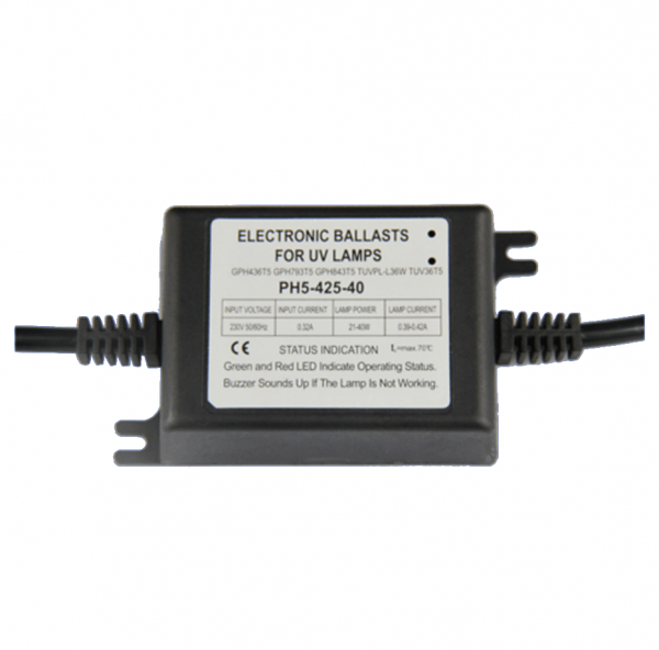 Lightbest UV Electronic Ballast, 230V, 25-28W