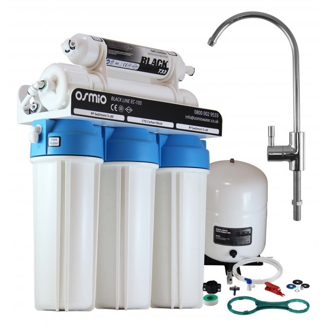 osmio-black-line-ec-105-non-pumped-5-stage-reverse-osmosis-system