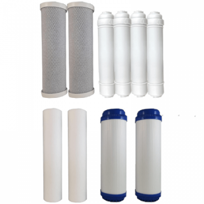 Osmio Grey Line 7 Stage 1 Year Replacement FIlter Bundle for the Osmio DO Range of Reverse Osmosis System