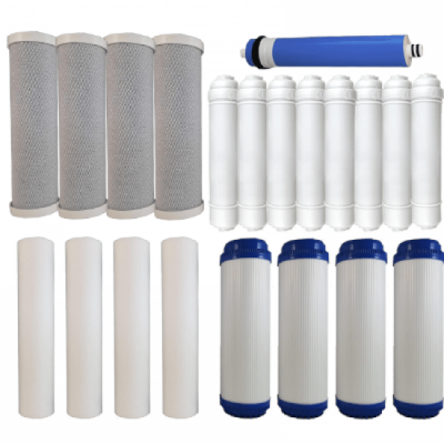 Osmio Grey Line 7 Stage 2 Year Replacement FIlter Bundle for the Osmio DO Range of Reverse Osmosis System