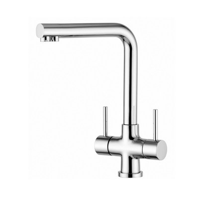 Quadro Mariella Chrome 3-Way Tri-flow Kitchen Tap