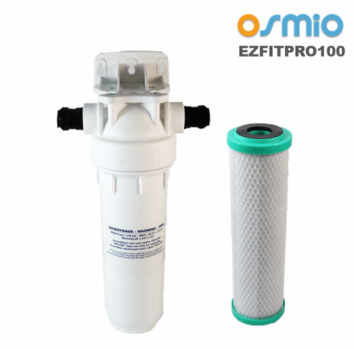 Osmio EZFITPRO-100 Undersink Water Filter Kit 15mm Push Fit