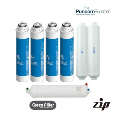 Puricom ZIP 24 Month Filter Pack with membrane