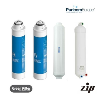 Puricom ZIP Full Set of Replacement Filters
