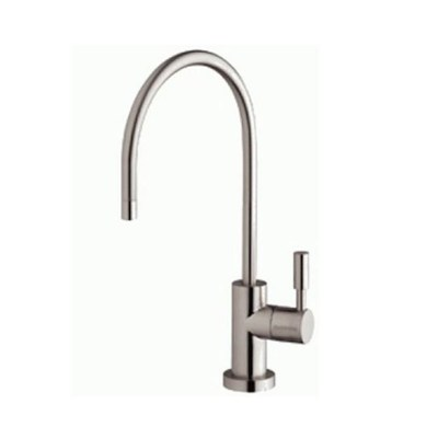 Swan Neck Brushed Nickel Water Filter Tap